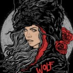 Wolf Design Illustration Shirts