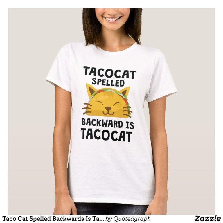 Funny and Cute Taco Design T-Shirts