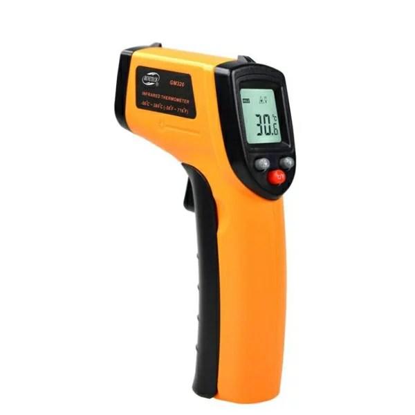測溫槍 高精度紅外線測溫槍工業廚房烘焙溫度計測油溫測量儀油炸商用檢測 | 無極限購GO - Rakuten樂天市場