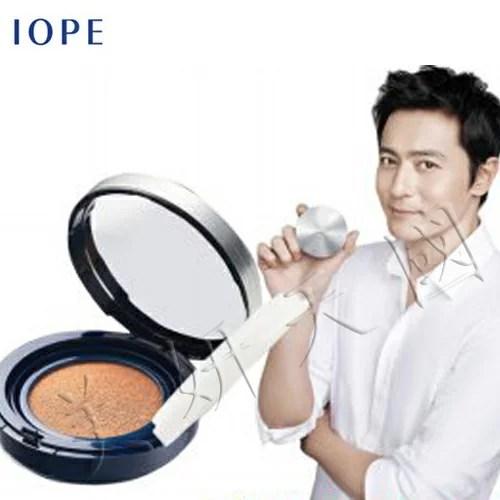 韓國原裝 ~IOPE 新上市『 Man Air Cushion 男生用防護氣墊粉餅15G 』另有HANSKIN/JART | 美妍天國 - 樂天市場