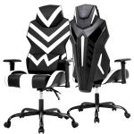 New Racing Style Pu Gaming Chair Ergonomic Swivel Rolling Chair Lumbar Support
