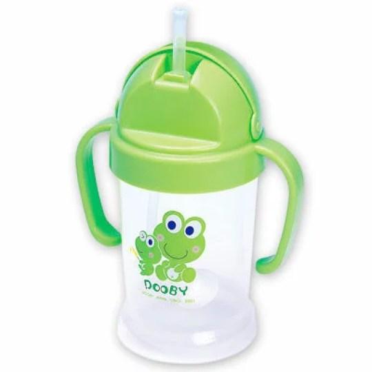 DOOBY】 大眼蛙神奇喝水杯200cc (綠/粉) - 寶貝俏媽咪婦嬰用品館| Rakuten樂天市場