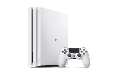 【送料無料】 ソニーインタラクティブエンタテインメント PlayStation4 Pro グレイシャー・ホワイト 1TB[ゲーム機本体] CUH-7100BB0...