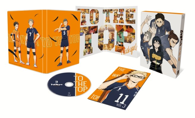 7,623円 ハイキュー!! TO THE TOP Vol.3【Blu-ray】