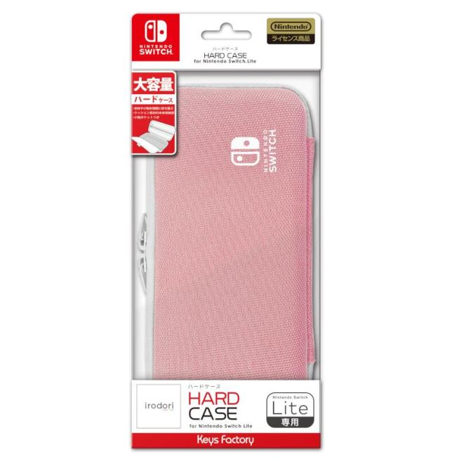 Nintendo Switch HARD CASE for Nintendo Switch Lite ペールピンク