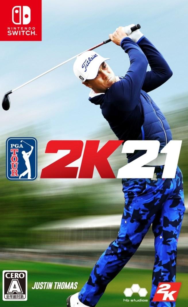 Nintendo Switch ゴルフ PGAツアー 2K21 Nintendo Switch版
