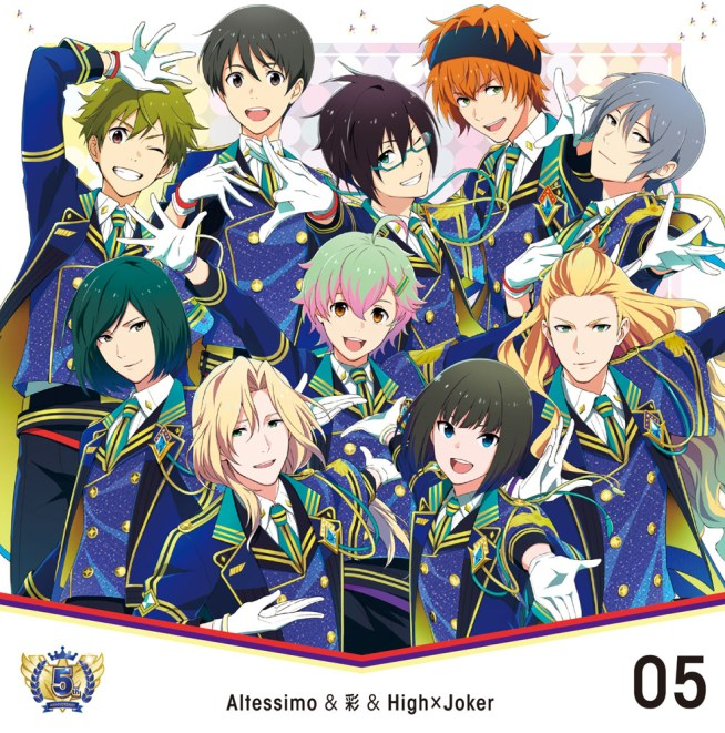 THE IDOLM@STER SideM 【楽天ブックス限定先着特典】THE IDOLM@STER SideM 5th ANNIVERSARY DISC 05 Altessimo&彩&High×Joker (L判ブロマイド付き)