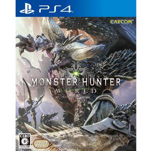 【PS4】モンスターハンター:ワールド(通常版) カプコン [PLJM-16110 PS4 MHワールド]【返品種別B】