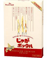 「【北海道限定】【ポテトファーム】[じゃがポックル](18g×10袋)」を楽天で購入