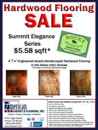 Hardwood Flooring ON SALE - Rocky Mountain Traditions Summit Elegance Series -