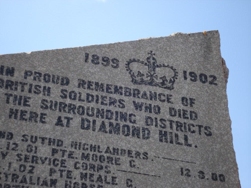 Diamond Hill aka Donkerhoek (2/6)