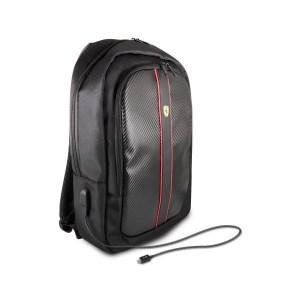 Ferrari backpack FESNMBP15BK 15 black On Track 1