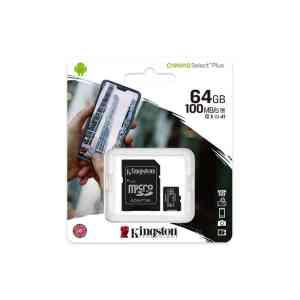 Kingston memory card microSDXC Canvas Select Plus 64GB 3