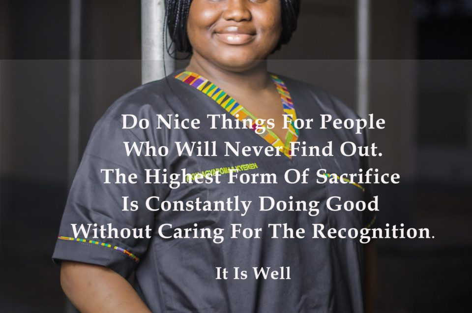 Do Nice Things For People Who Will Never Find Out