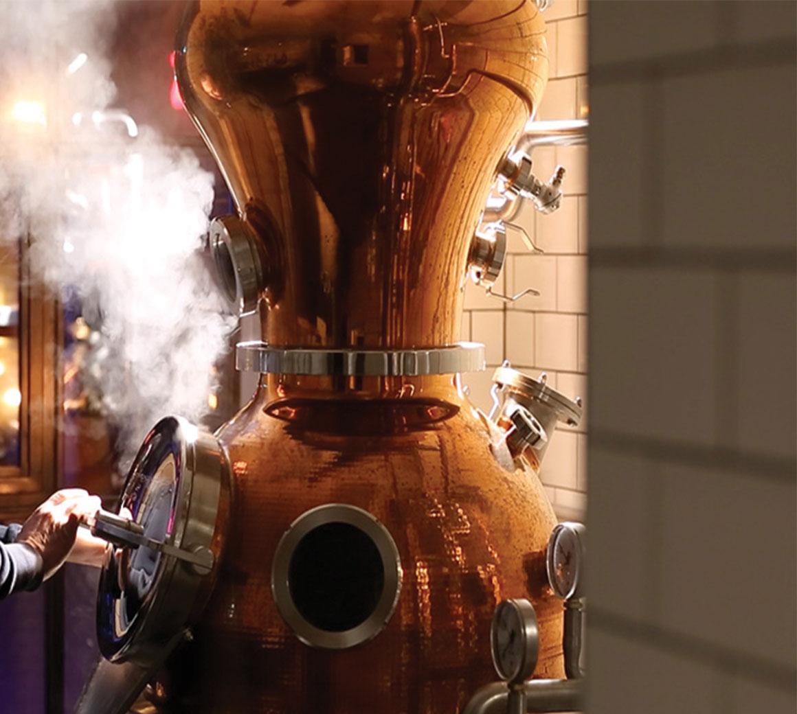 Dorodouli tsipouro & spirits distillery