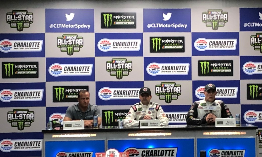 Kevin Harvixk Won the 2018 NASCAR All-Star Race in a New Rules Package