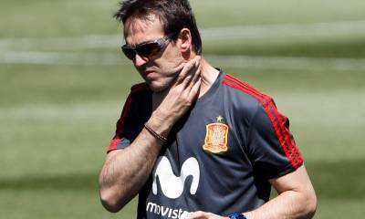 Spain Sacks Julen Lopetegui