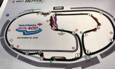 Charlotte Roval Testing Brings More Questions than Answers