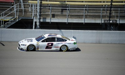 Brad Keselowski hopes to win at his home track of Michigan International Speedway on Sunday