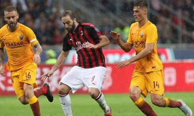 Milan Grab Late Winner To Take Three Points Against Roma
