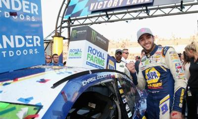 Chase Elliott is in Championship Form after Dover