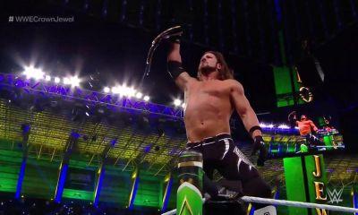 WWE Crown Jewel Graded