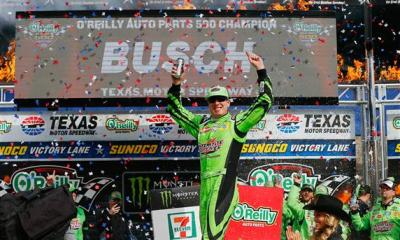 Kyle Busch eyeing a 4th Straight Championship 4 Appearance with a Texas Win