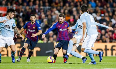 Barcelona Prevail Against Celta Vigo