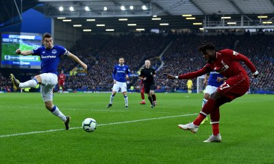 Liverpool Held By Everton At Goodison Park