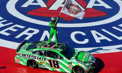 Kyle Busch Scores 200th NASCAR National Series Win at Auto Club Speedway