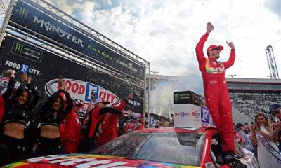 Kyle Busch Leads Busch Brothers 1-2 Finish in Food City 500