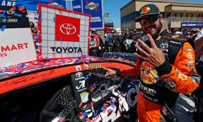 Truex Leads Toyota Run of the Show in Sonoma