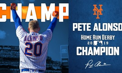 Pete Alonso 2019 Home Run Derby Breakdown