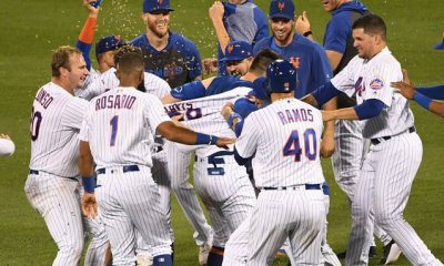 Mets Magic Continues As Davis Hits First Career Walk-Off
