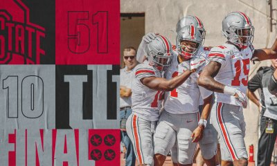 #6 Ohio State Upends Indiana in a Big Ten Mismatch