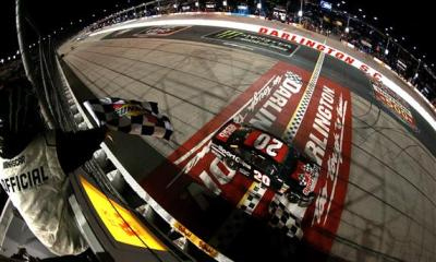 Erik Jones Earns Second Career Win in 70th Southern 500