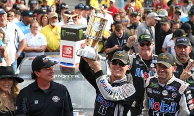 Harvick is Happy Again After Second Brickyard Win