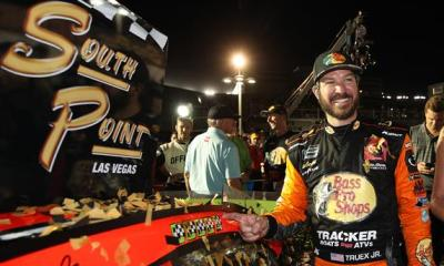 Martin Truex, Jr. Opens Playoffs with Las Vegas Win