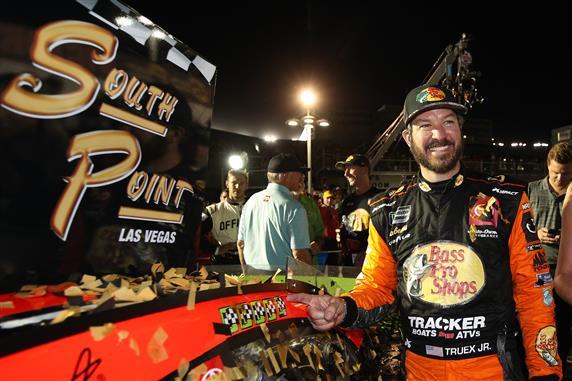 Martin Truex, Jr. Opens Playoffs with Las Vegas Win