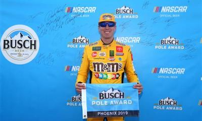 Kyle Busch Looking to Advance to Homestead
