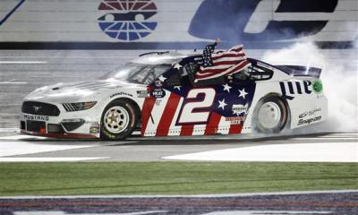 Brad Keselowski Capitalizes Late for First Coca-Cola 600 Win