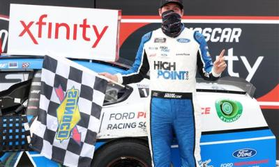 Chase Briscoe Credits God for Darlington Win After Tragic Week