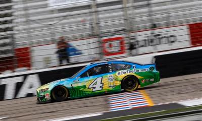 Harvick Hammers Away Another Atlanta Win
