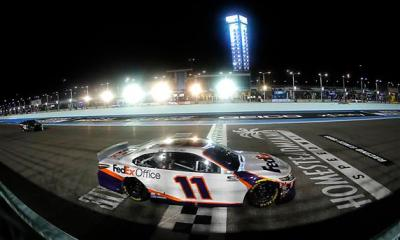 Denny Hamlin Earns 40th Career Win at Homestead