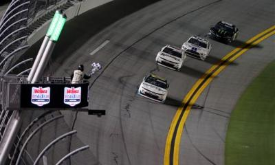 Justin Haley Survives Last Lap Crash to Win at Daytona