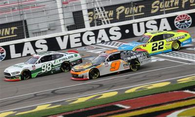 Chase Briscoe Wins Xfinity Playoff Opener at Las Vegas