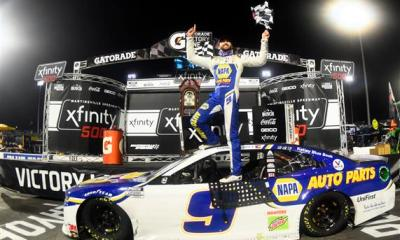 Elliott Earns Championship Berth with Martinsville Win