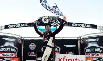 Harrison Burton Wins Second-Straight Xfinity Race
