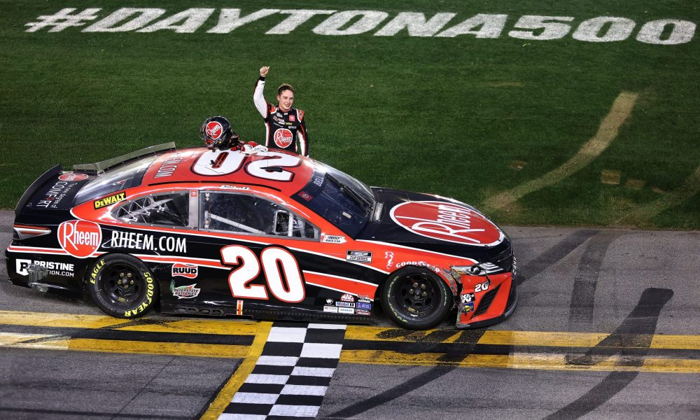 Christopher Bell Earns First Cup Win on Daytona RC