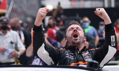 Josh Berry Earns First Xfinity Win at Martinsville